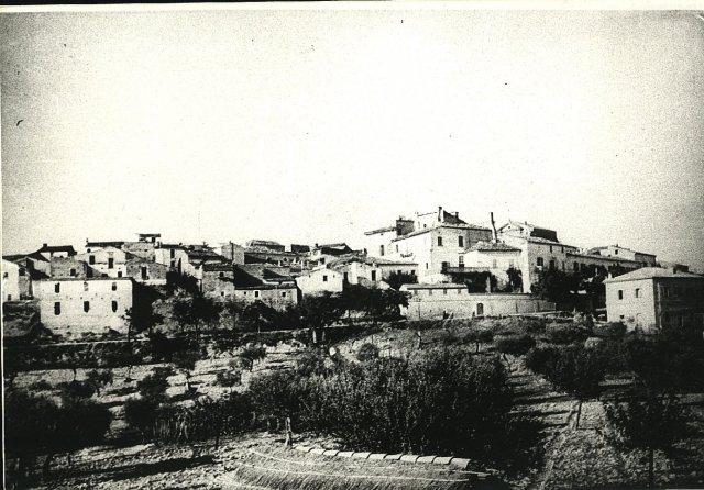 Il borgo di Moscufo in bianco e nero