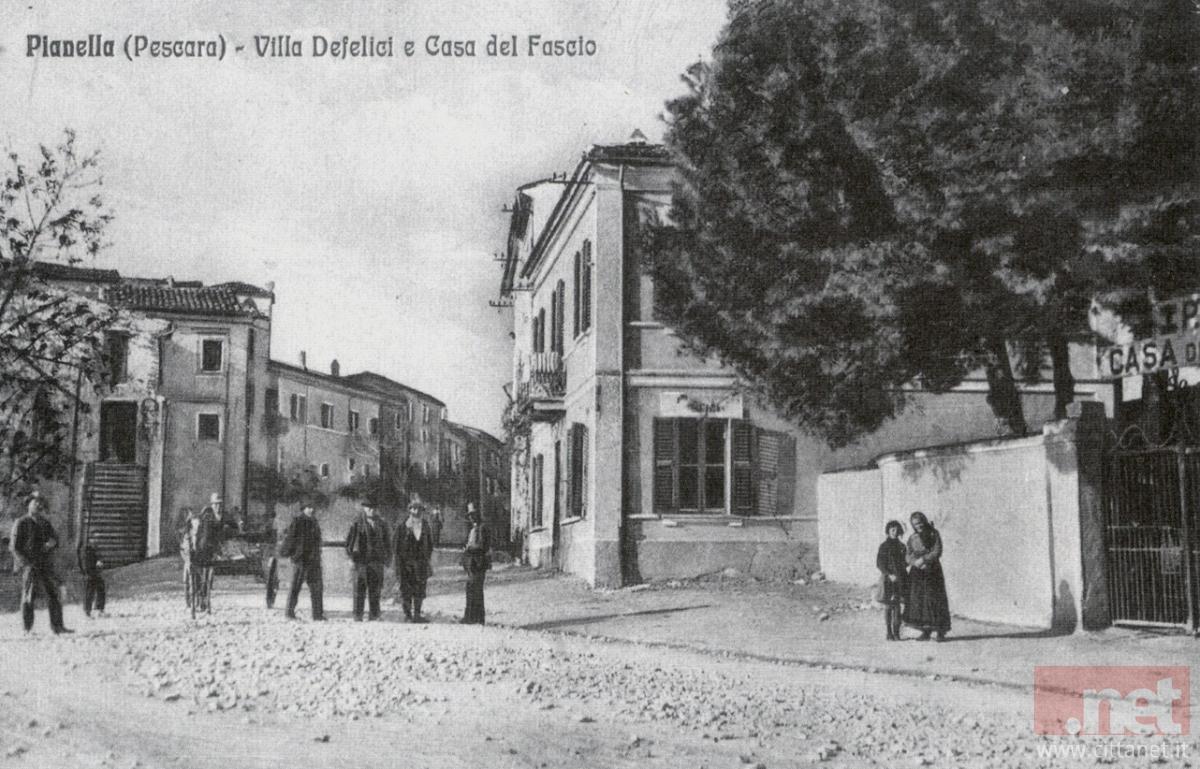 Pianella via Regina Margherita senza asfalto. Archivio Carlo Di Francesco