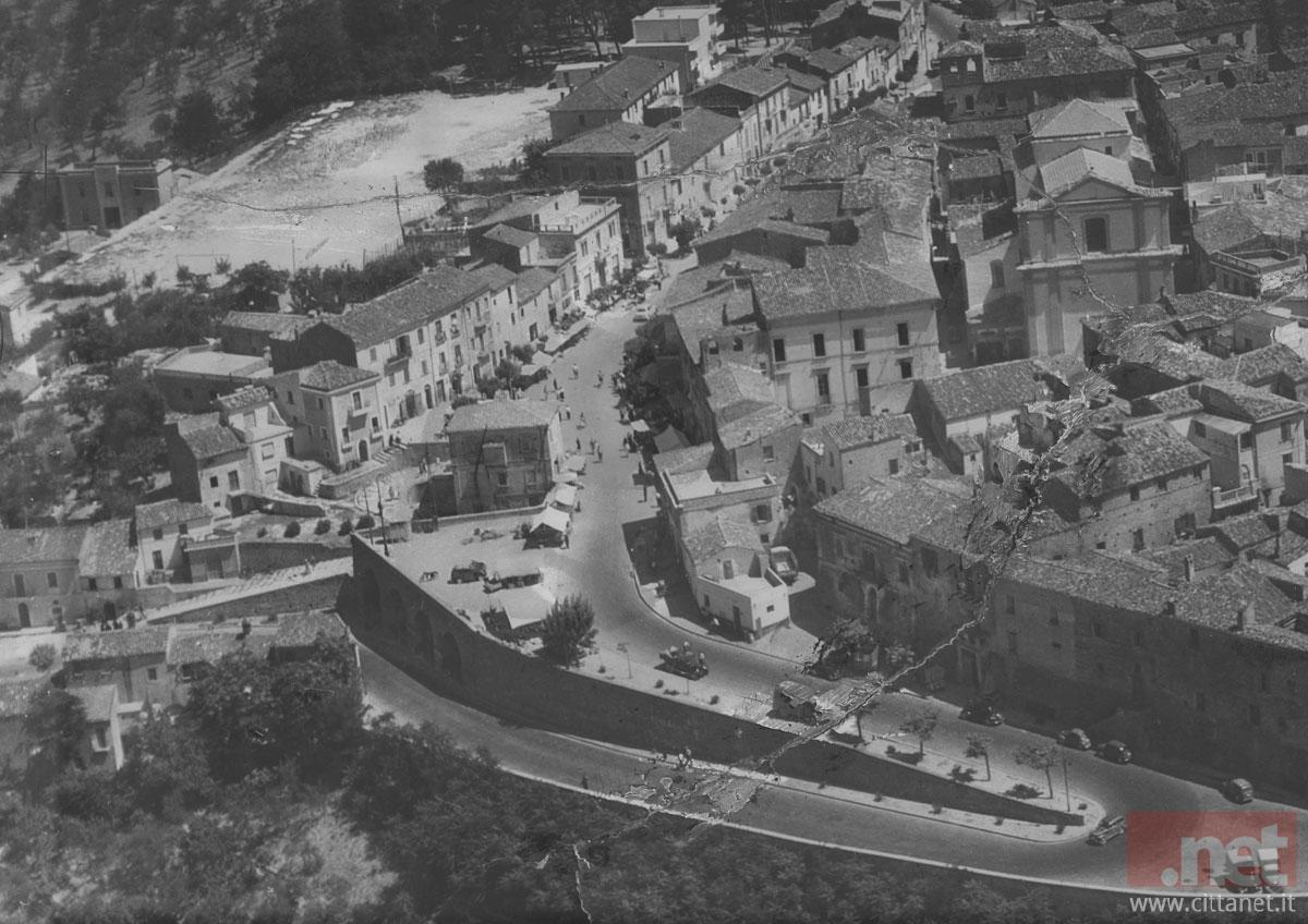 Pianella panorama anni '50. Archivio Carlo Di Francesco