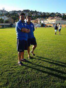 mister Donato Ronci e il suo vice Piero Zuccarini