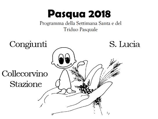 Santa Lucia Calendario.Pasqua 2018 A Collecorvino Tutti Gli Appuntamenti Di